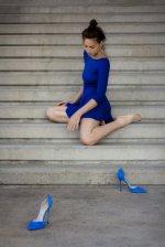 Kobieta bez butów
