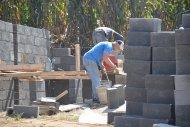 podczas pracy na placu budowy