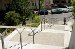 Betony Artevia™ Decor doskonale łączą się z kostką brukową, kamieniem lub drewnem